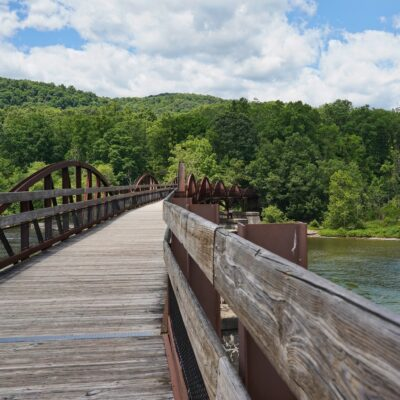Views at Ohiopyle State Park in Pennsylvania's Laurel Highlands.