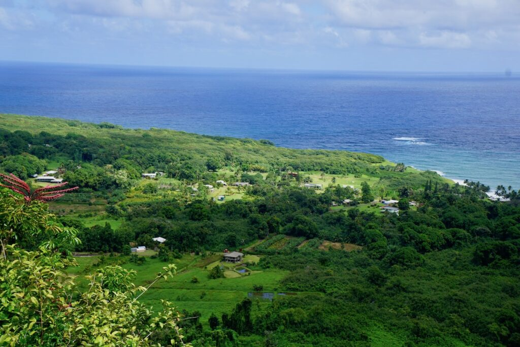 Views from an overlook along the Road to Hana.