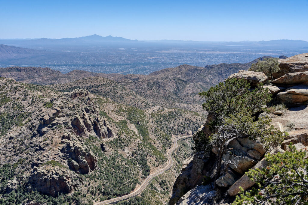 Views from Arizona's Mount Lemmon.