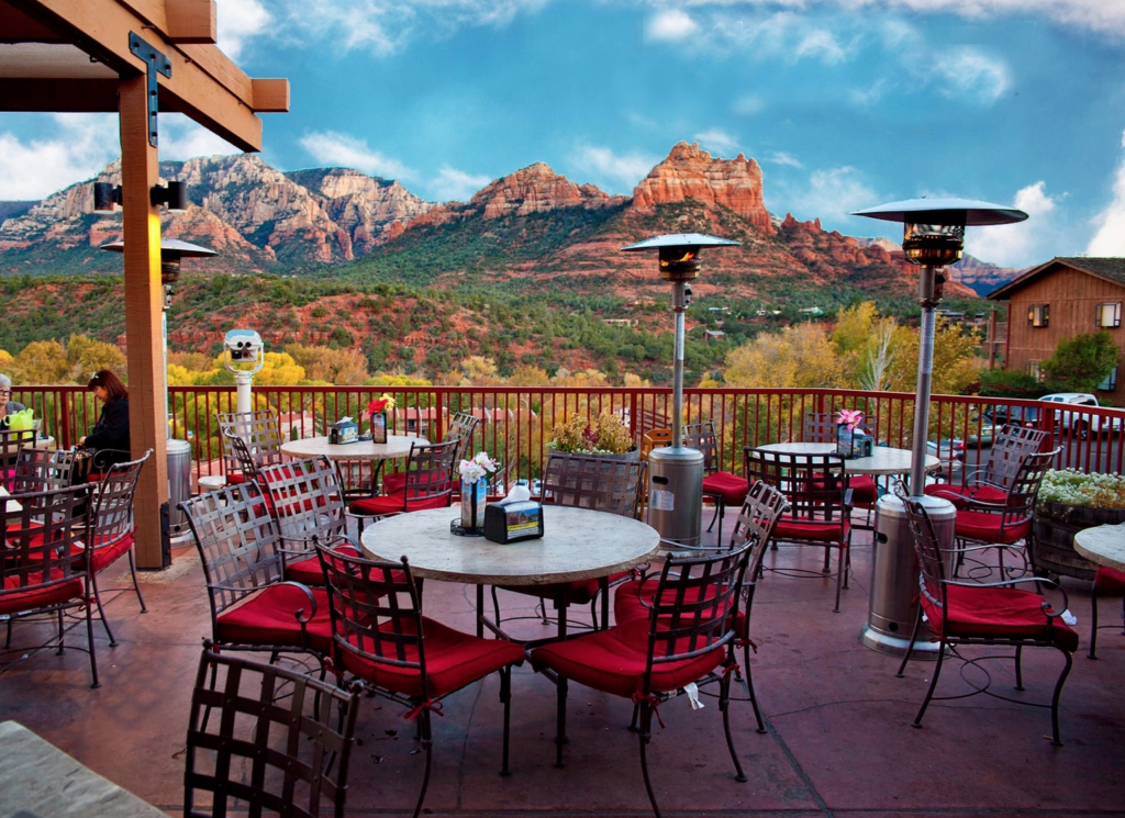 Views from Canyon Breeze in Sedona.