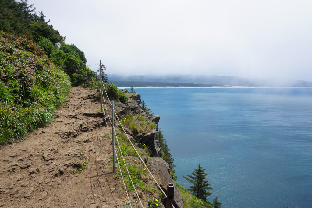 Views from Cape Lookout Trail in Oregon.