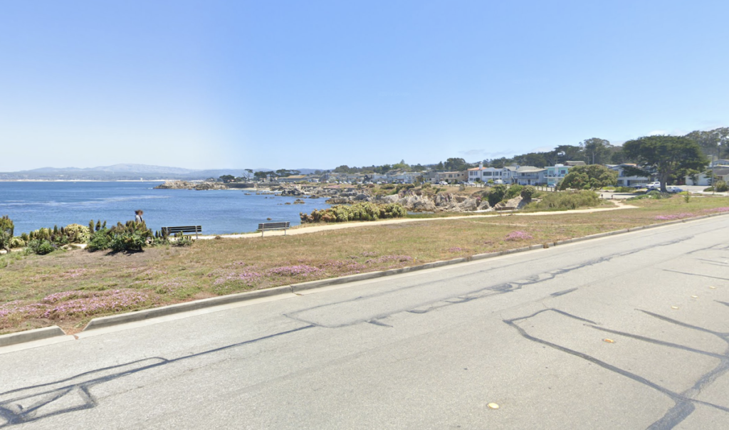 Views from Ocean View Boulevard in Pacific Grove.