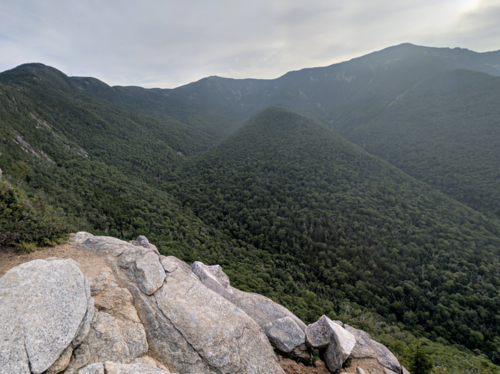 Views from Old Bridle Path in New Hampshire.