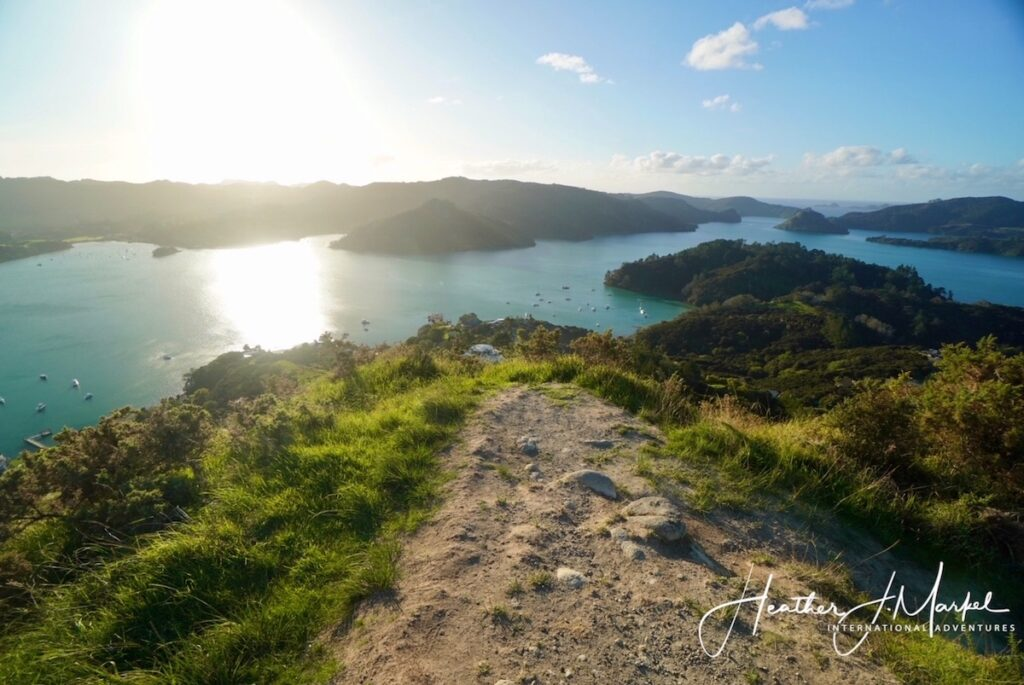 Views from St. Paul's Rock in New Zealand.