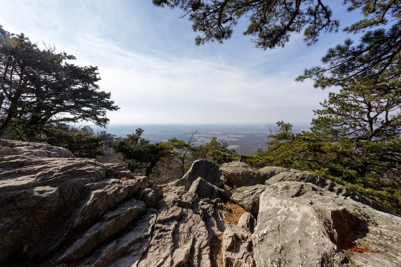 Views from Sugarloaf Mountain in Dickerson, Maryland.