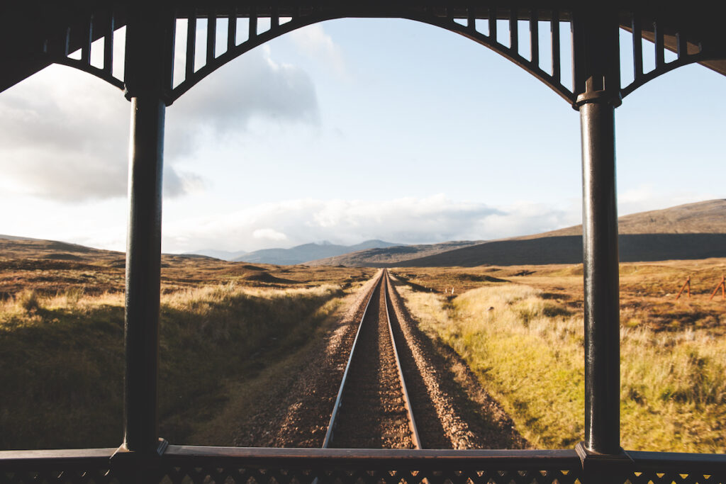 Views from the Belmond Royal Scotsman in Scotland.