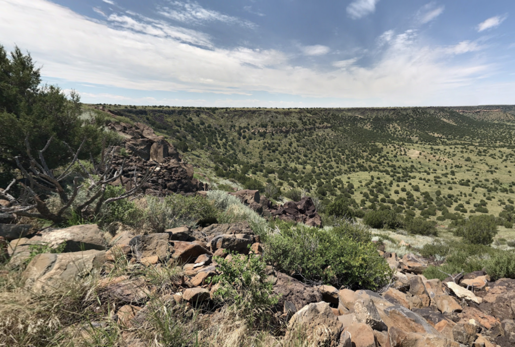 Views from the Black Mesa Summit Trail in Oklahoma.