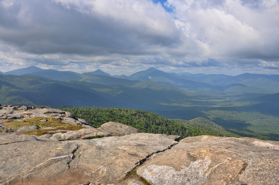 Views from the Cascade Mountain Trail in New York.