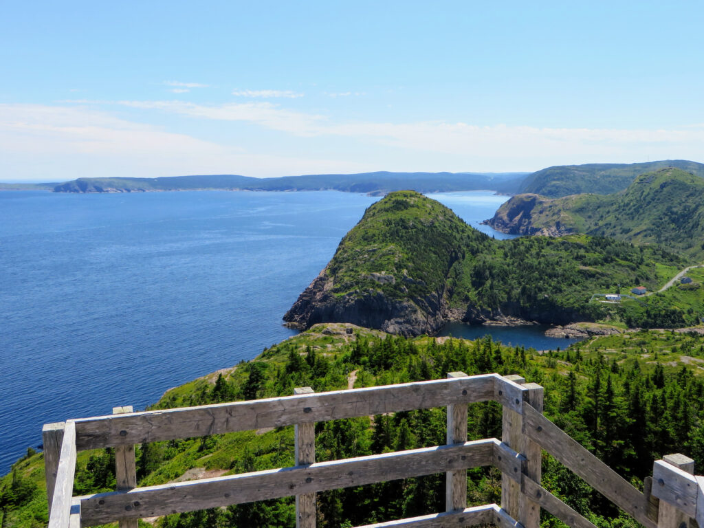 Views from the East Coast Trail in Newfoundland.
