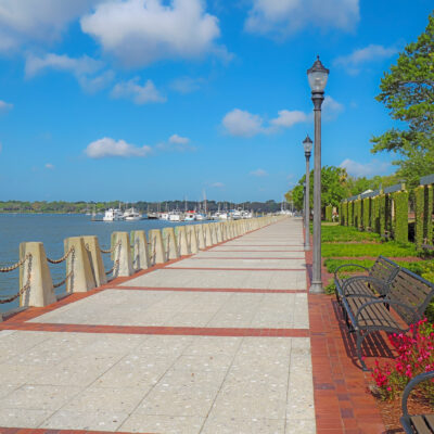 Views from the historic district of Beaufort, South Carolina.