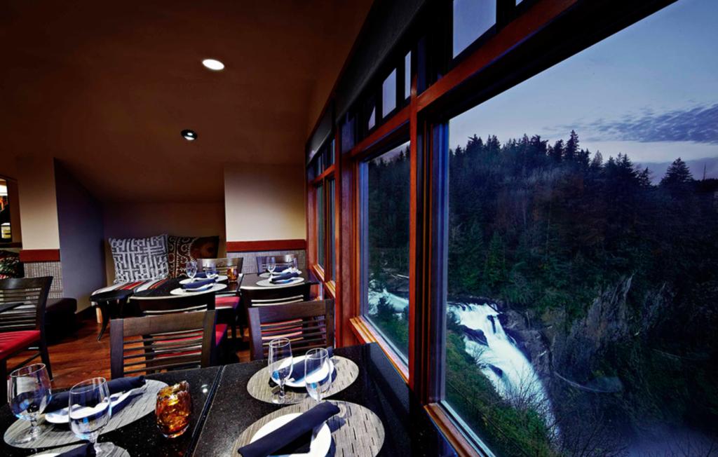Views from the Salish Lodge.