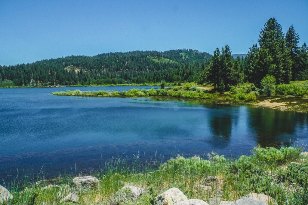 Views from the Spooner Lake Loop Trail.