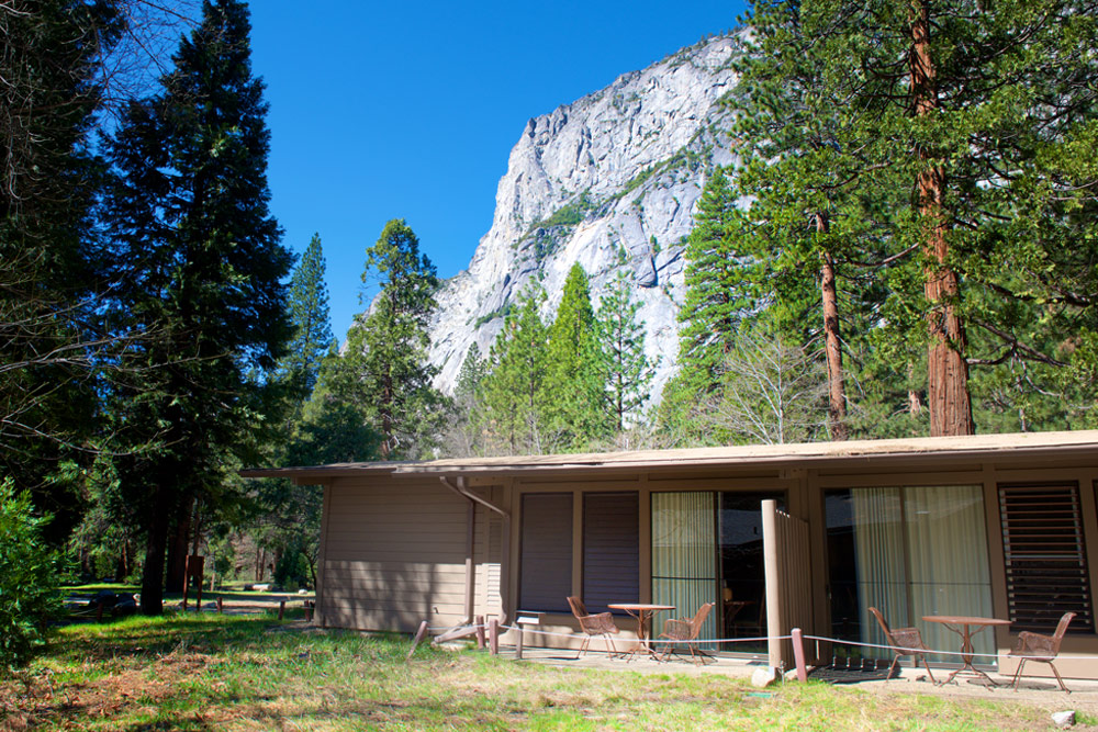 Views from Yosemite Valley Lodge.