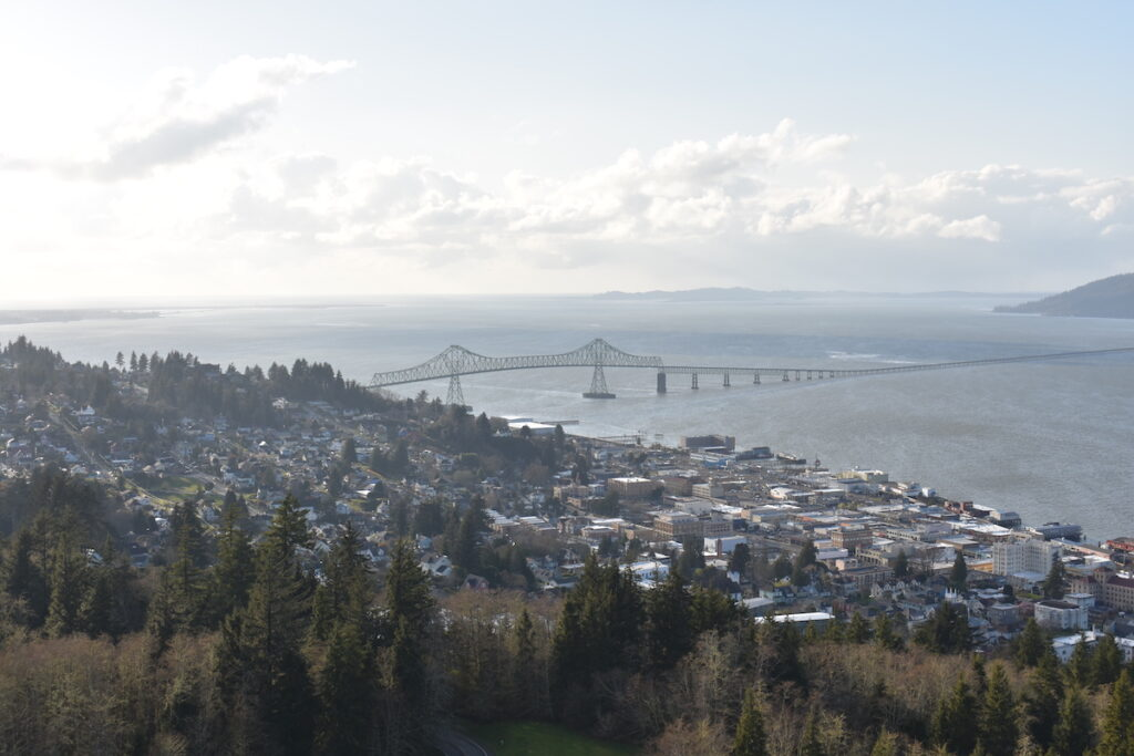 Views of Astoria from the Astoria Column.