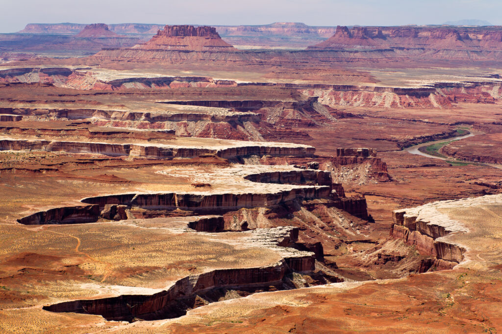 Views of Canyonlands National Park from Island in the Sky.
