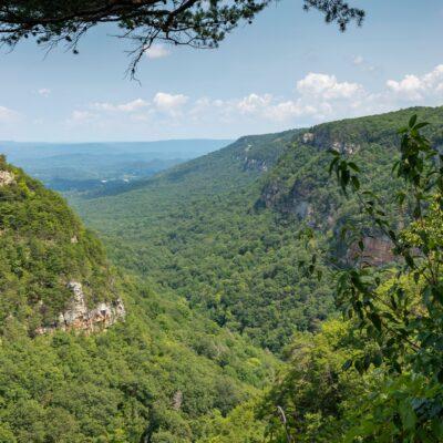 Views of Cloud Canyon in Georgia.