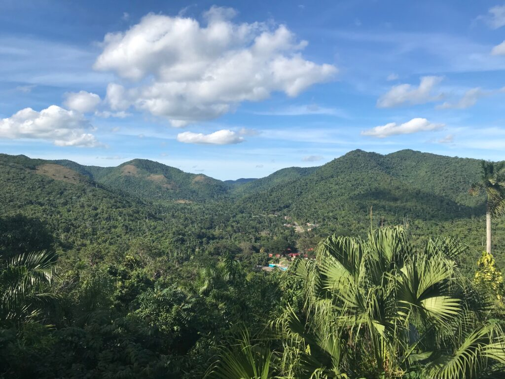 Views of Las Terrazas in Cuba.
