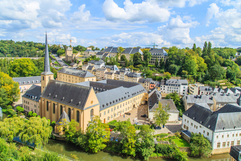 Views of Luxembourg City.