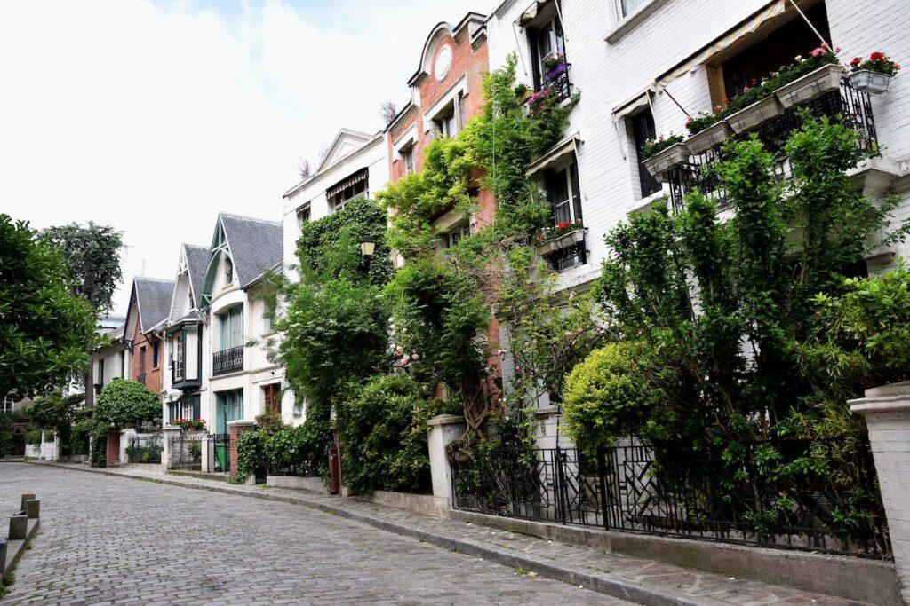 Villa Leandre in Montmartre.