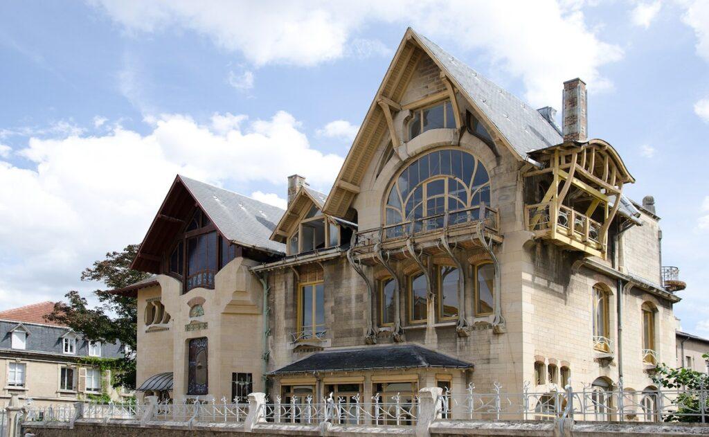 Villa Majorelle in Nancy, France.