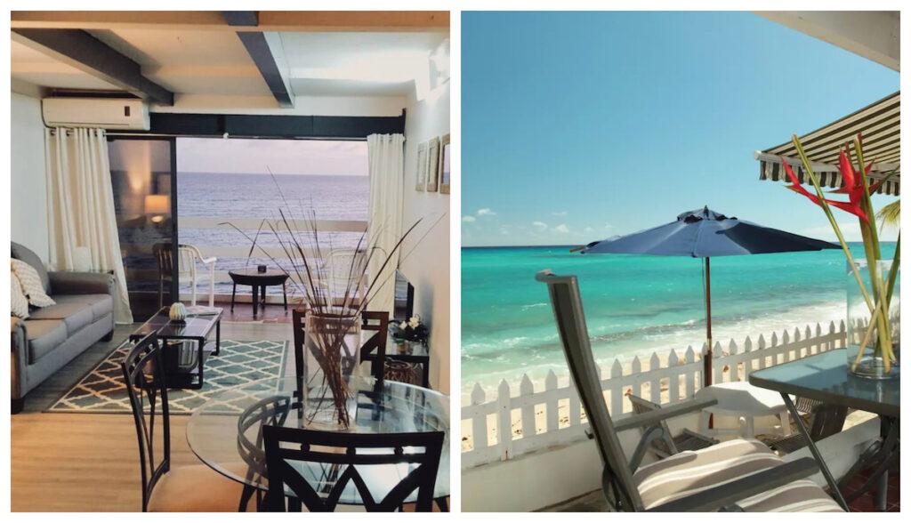 Villas on the Beach in Barbados.