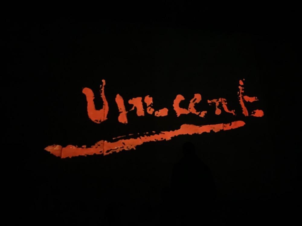 Vincent Van Gogh's signature.