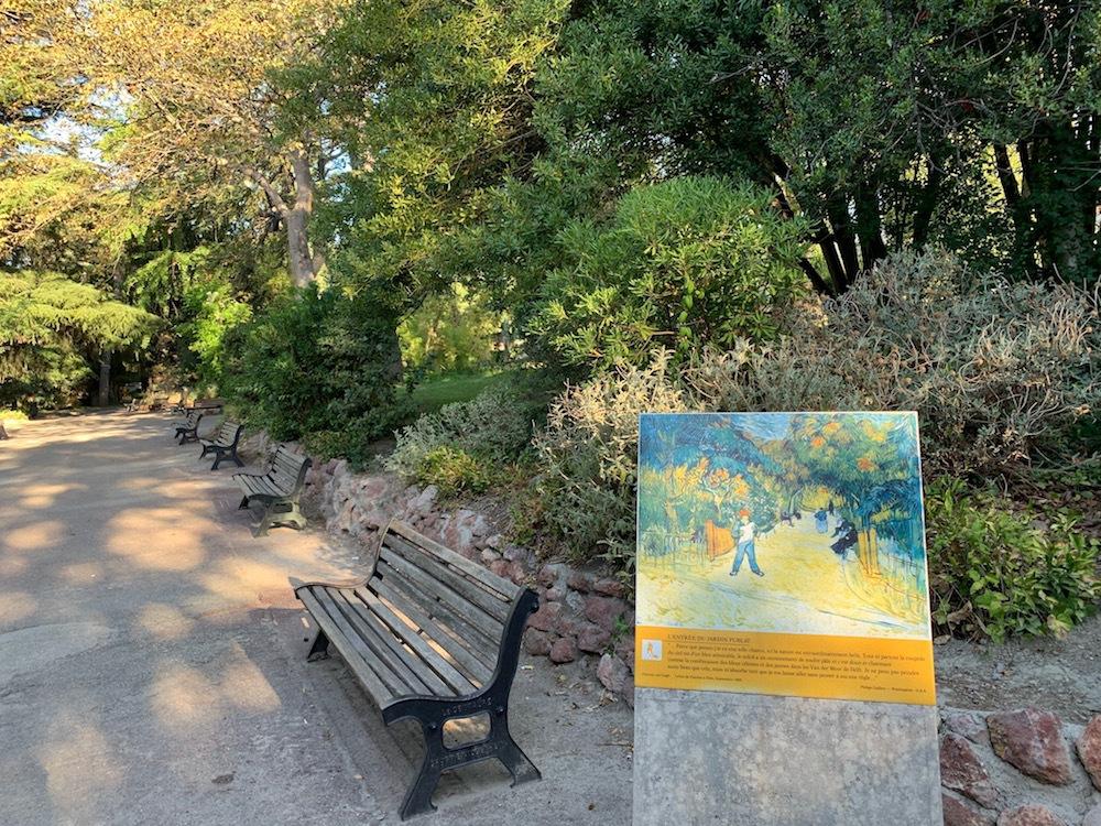Vincent Van Gogh walking tour in Arles, France.