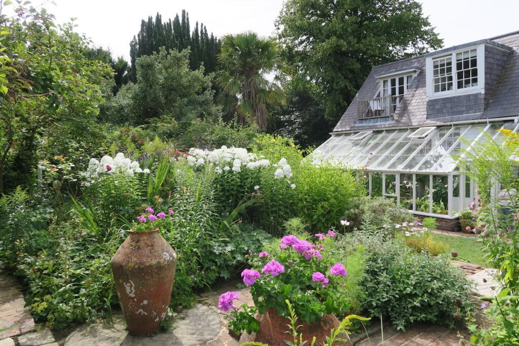 Virginia Woolf's Monk's House in Lewes, East Sussex.