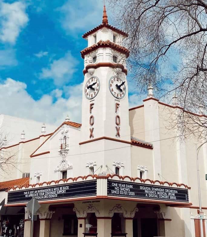 Visalia Fox Theater.