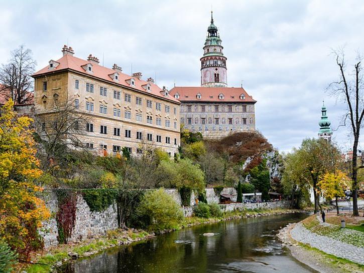 Vitava River, Ceský Krumlov.