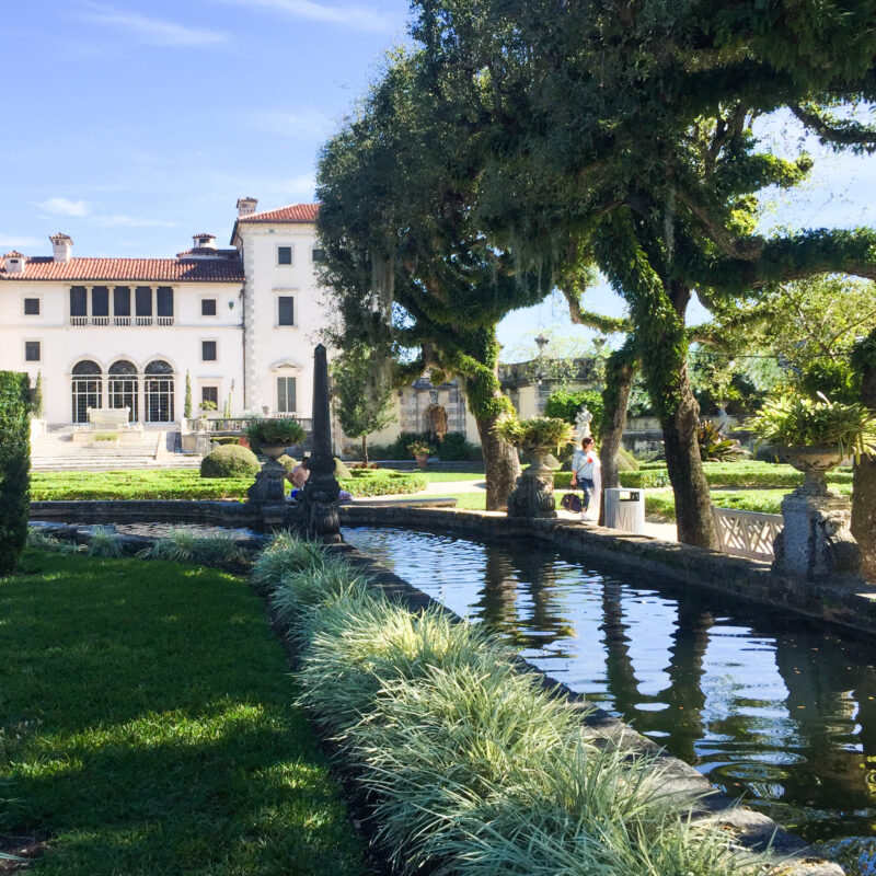 Vizcaya Museum and Gardens in Florida.