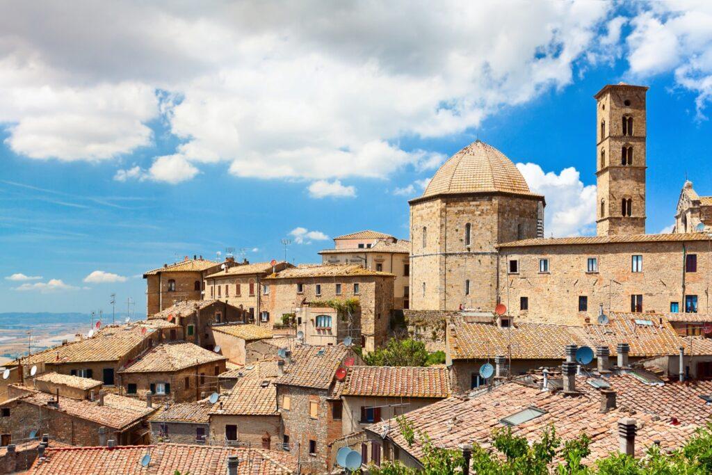 Volterra in Tuscany, Italy.