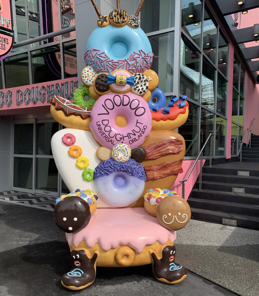 VooDoo Donut at Universal Studios Orlando.
