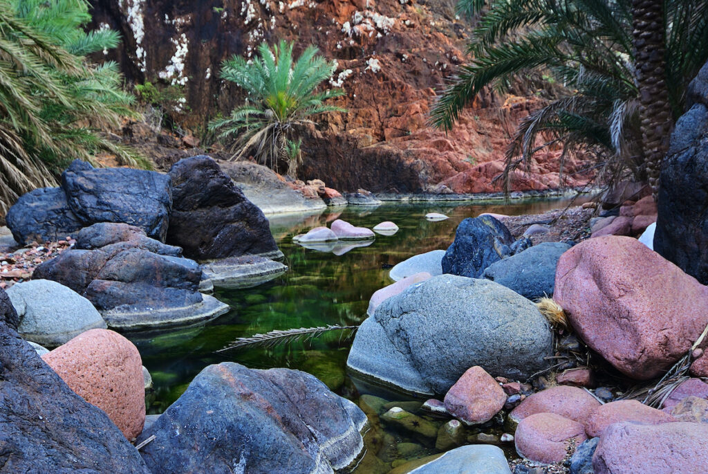 Wadi Dirhur Canyon, Socotra Island, Yemen.