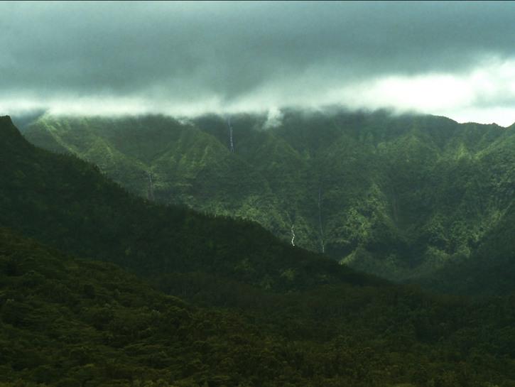 Wai'ale'ale Hawaii rain