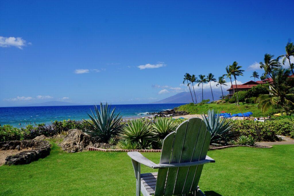 Wailea Beach views from the Four Seasons Maui.