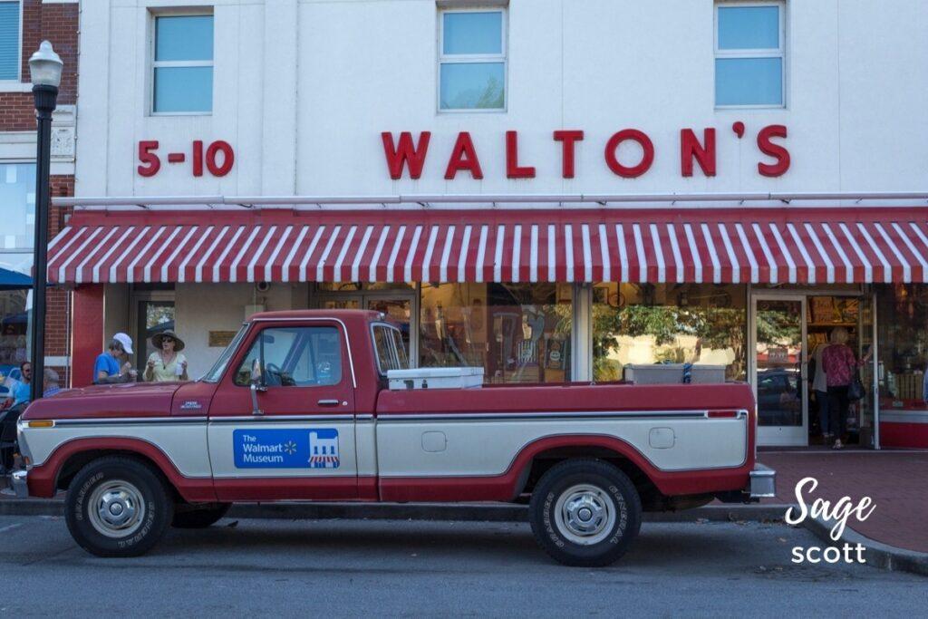 Walton's Five and Dime in Bentonville, AR.