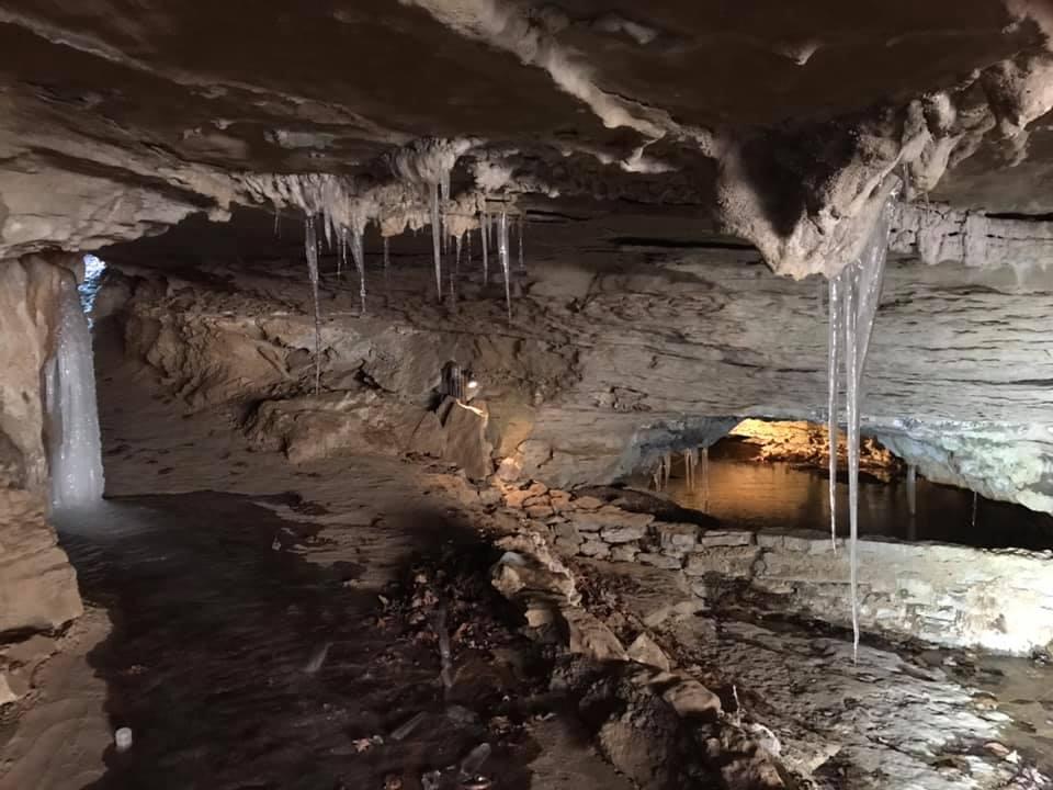 War Eagle Cavern at Beaver Lake.