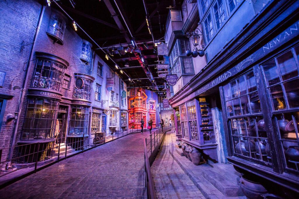 Warner Bros Studios Leavesden in England.