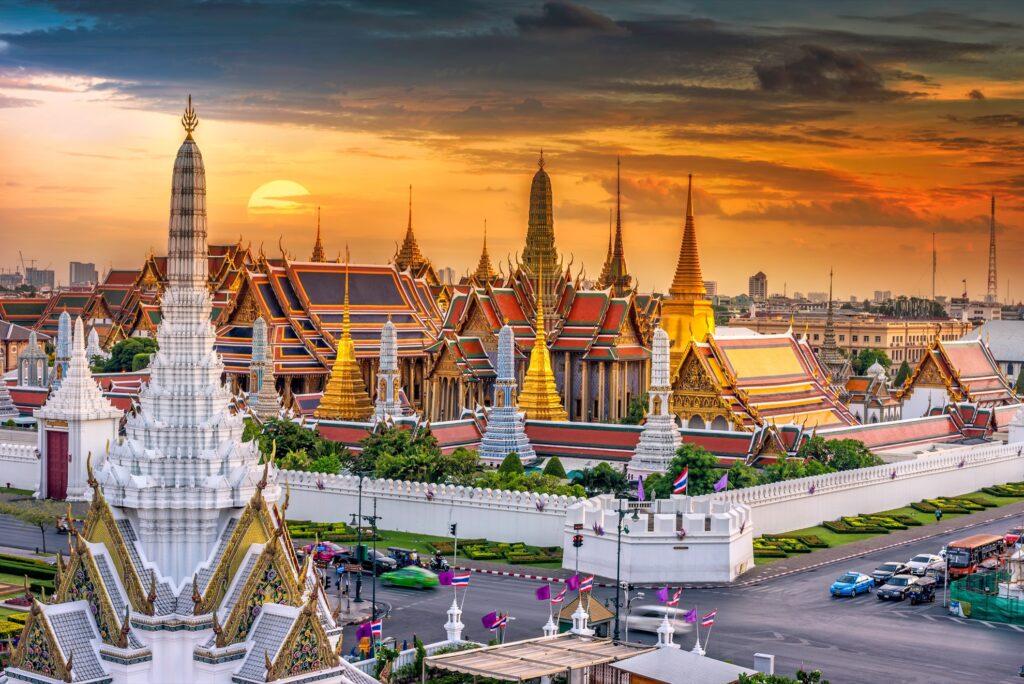 Wat Phra Kaew in Thailand.