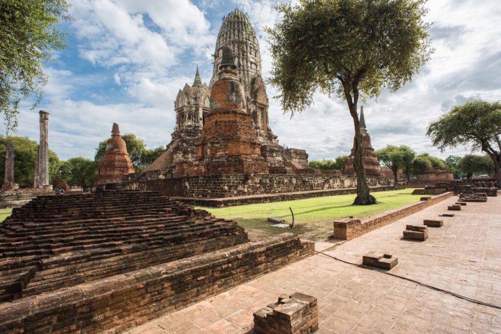 Wat Ratchaburana in Ayutthaya, Thailand.