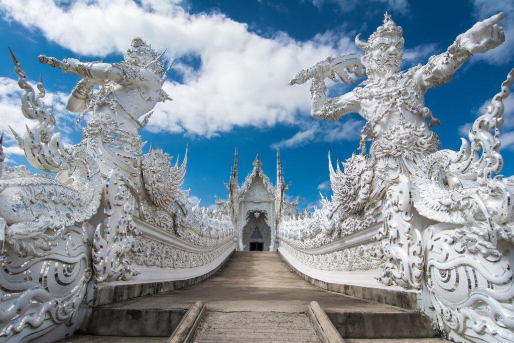 Wat Rong Khun in Thailand.