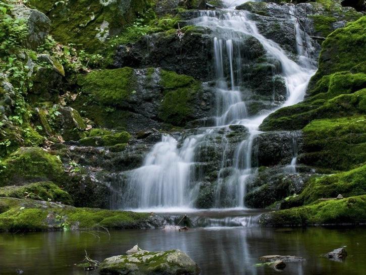 Waterfall of the Delaware Water Gap