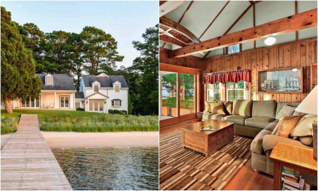 Waterfront Retreat In Princess Anne
