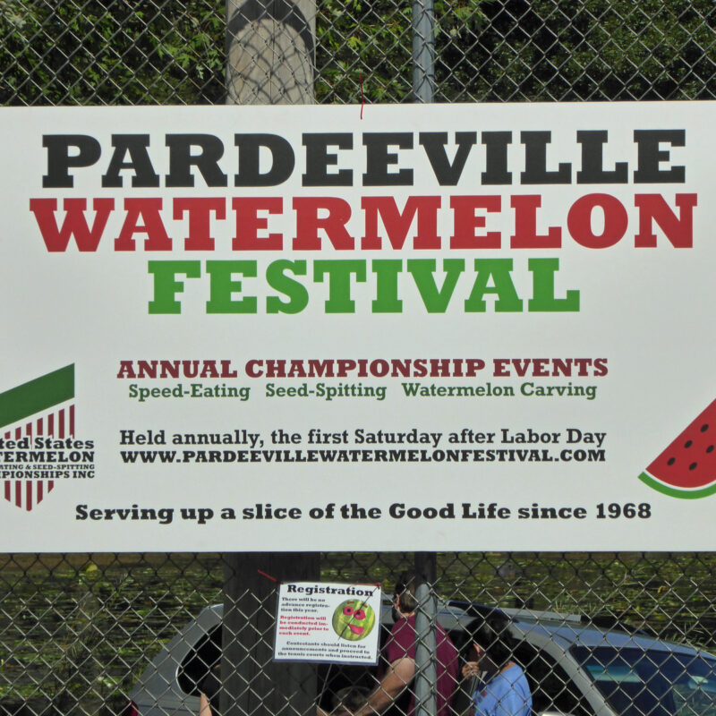 Watermelon Festival in Pardeeville.