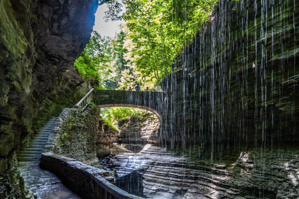 Watkins Glen State Park in New York.
