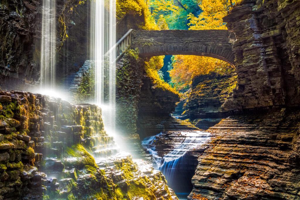 Watkins Glen State Park in Watkins Glen, New York.