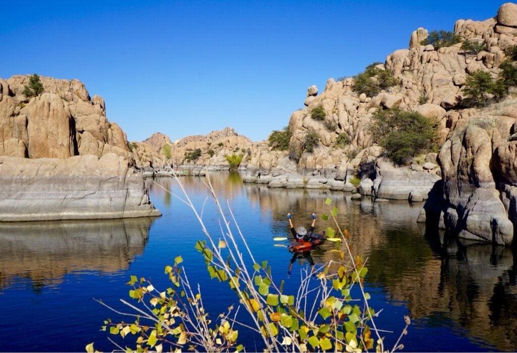 Watson Lake in Arizona.