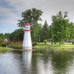 Wellington Park in the quaint town of Simcoe, Ontario.