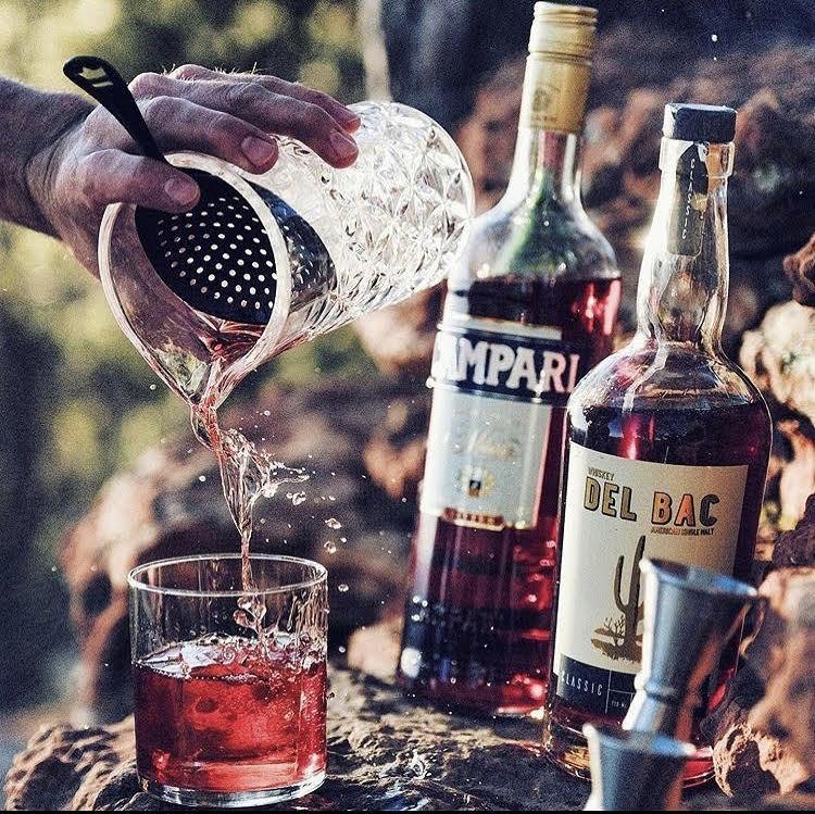 Whiskey Del Bac in Arizona.
